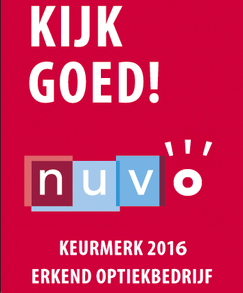 Nuvo keurmerk 2016 bril in mode